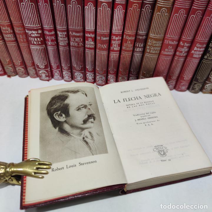 Libros de segunda mano: Gran lote de 21 crisoles de Aguilar. Pio Baroja, Irving, Kipling, Stevenson, Concha Espina, etc. - Foto 9 - 254921380