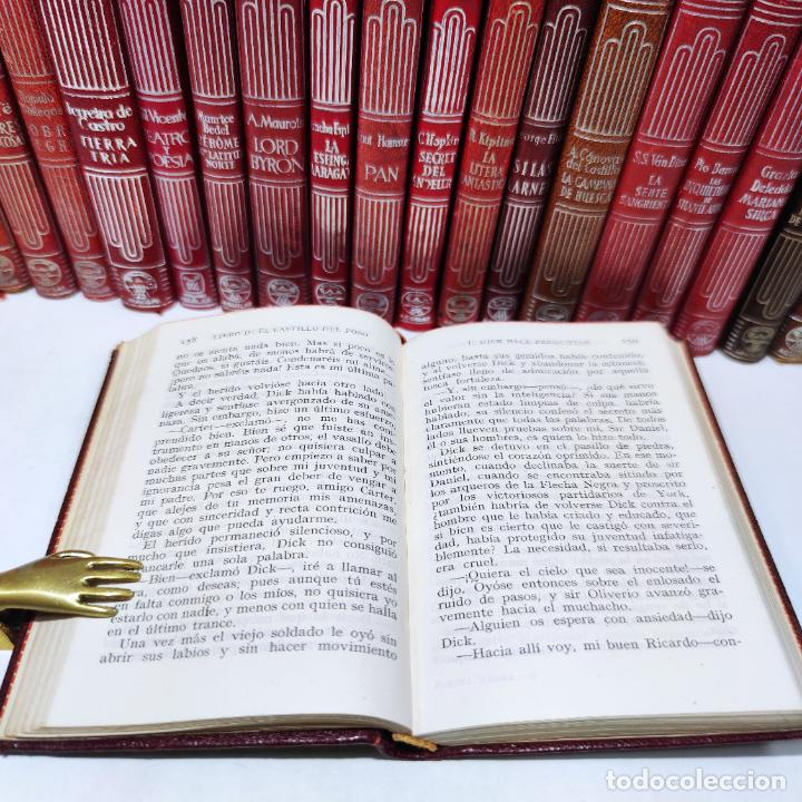 Libros de segunda mano: Gran lote de 21 crisoles de Aguilar. Pio Baroja, Irving, Kipling, Stevenson, Concha Espina, etc. - Foto 10 - 254921380