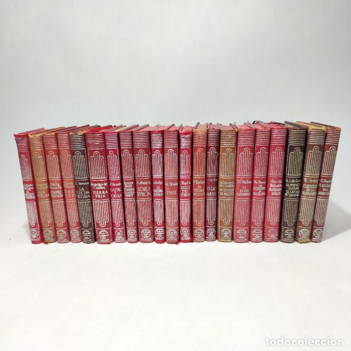 GRAN LOTE DE 21 CRISOLES DE AGUILAR. PIO BAROJA, IRVING, KIPLING, STEVENSON, CONCHA ESPINA, ETC. (Libros de Segunda Mano (posteriores a 1936) - Literatura - Narrativa - Clásicos)