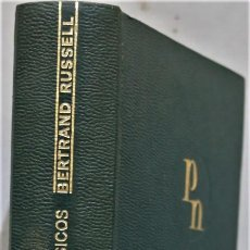 Livres d'occasion: ESCRITOS BASICOS. 1903-1959. RUSSELL. AGUILAR. Lote 255002590