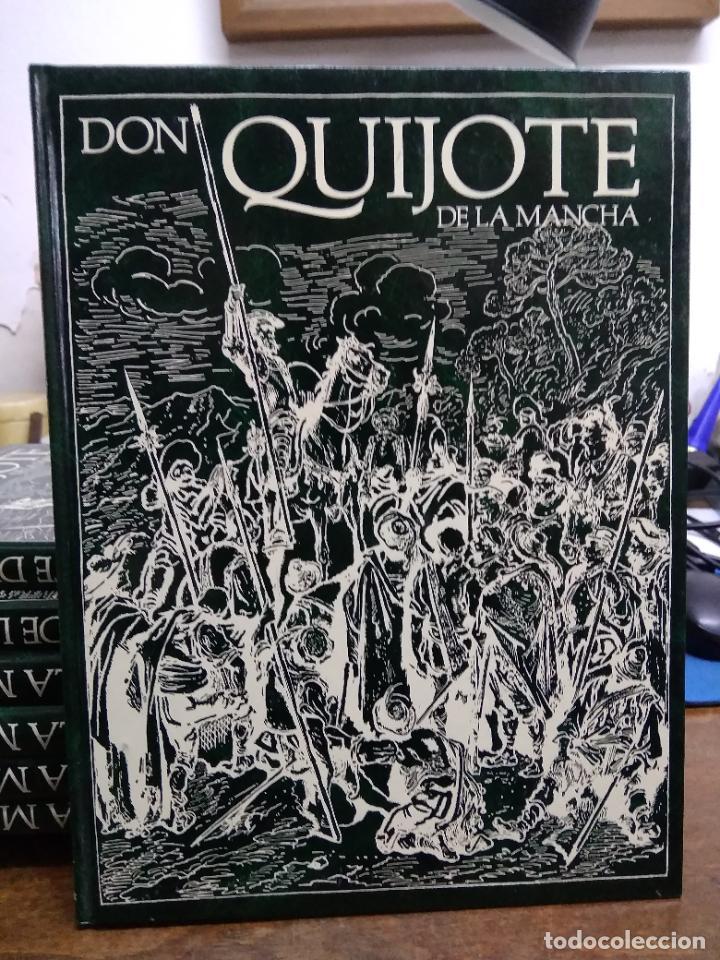 Libros de segunda mano: Don Quijote de la Mancha, Miguel de Cervantes Saavedra. (8 volúmenes 1988). ENCI-19 - Foto 7 - 255974540