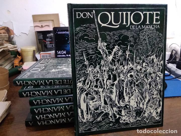 Libros de segunda mano: Don Quijote de la Mancha, Miguel de Cervantes Saavedra. (8 volúmenes 1988). ENCI-19 - Foto 8 - 255974540