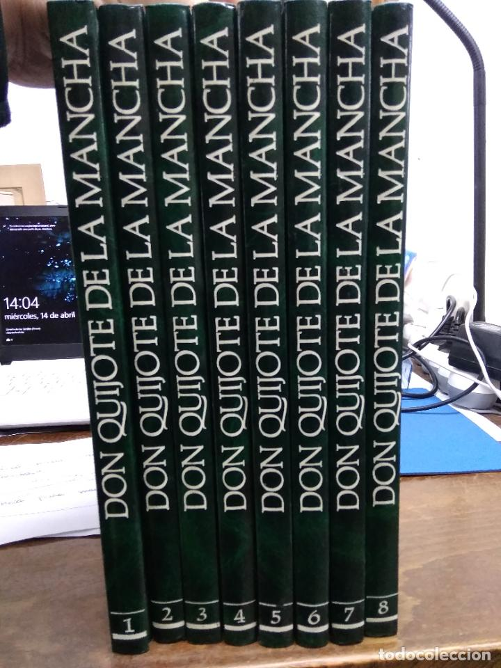 DON QUIJOTE DE LA MANCHA, MIGUEL DE CERVANTES SAAVEDRA. (8 VOLÚMENES 1988). ENCI-19 (Libros de Segunda Mano (posteriores a 1936) - Literatura - Narrativa - Clásicos)