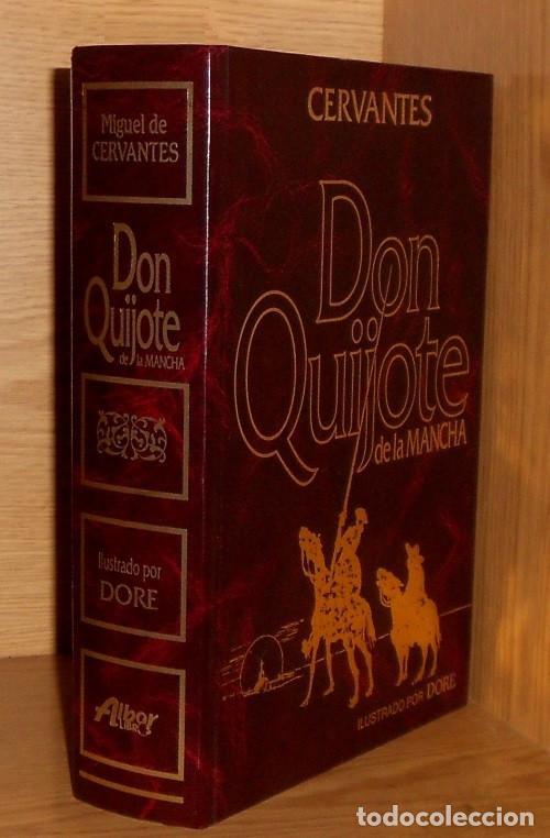 DON QUIJOTE DE LA MANCHA. CERVANTES. ILUSTRADO. GUSTAVO DORE. ALBA EDITORES. (Libros de Segunda Mano (posteriores a 1936) - Literatura - Narrativa - Clásicos)