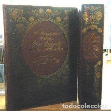Libros de segunda mano: EL INGENIOSO HIDALGO DON QUIJOTE DE LA MANCHA (DOS TOMOS). A-FACSIMIL-292. Lote 256149795