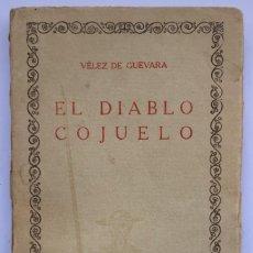 Libros de segunda mano: EL DIABLO COJUELO - VÉLEZ DE GUEVARA. Lote 257421875