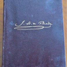 Libros de segunda mano: OBRAS COMPLETAS - JOSÉ MARÍA DE PEREDA - M. AGUILAR EDITOR AÑO 1943 - CANTOS PINTADOS. Lote 257529630