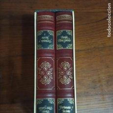 Libros de segunda mano: FORTUNATA Y JACINTA.-PÉREZ GALDÓS. 2 TOMOS. 1983. CON CAJETIN.. Lote 257538980