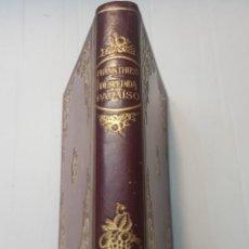 Libros de segunda mano: LIBRO DESPEDIDA DEL PARAÍSO-FRANK THIESS-SERIE LIMITADA 28 EJEMPLARES PAPEL VERJURADO Y JAPON 1946. Lote 257932275