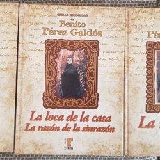 Libros de segunda mano: OBRAS ESCOGIDAS BENITO PÉREZ GALDÓS. Lote 257991490