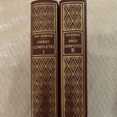 Libros de segunda mano: PÍO BAROJA, OBRAS COMPLETAS TOMO I Y II , 1974- 1978. Lote 259264470