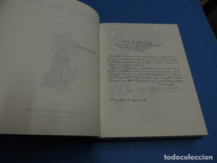 Libros de segunda mano: LA LEYENDA DEL CID ESCRITA EN VERSO - JOSE ZORRILLA - ILUSTRADA POR PELLICER - Foto 4 - 261117960