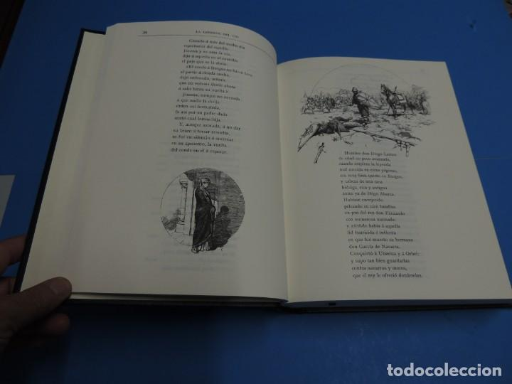 Libros de segunda mano: LA LEYENDA DEL CID ESCRITA EN VERSO - JOSE ZORRILLA - ILUSTRADA POR PELLICER - Foto 6 - 261117960