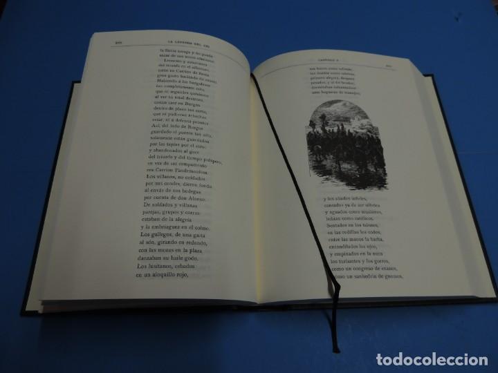 Libros de segunda mano: LA LEYENDA DEL CID ESCRITA EN VERSO - JOSE ZORRILLA - ILUSTRADA POR PELLICER - Foto 7 - 261117960
