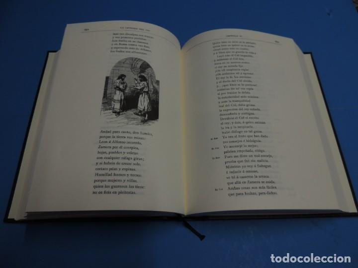 Libros de segunda mano: LA LEYENDA DEL CID ESCRITA EN VERSO - JOSE ZORRILLA - ILUSTRADA POR PELLICER - Foto 8 - 261117960
