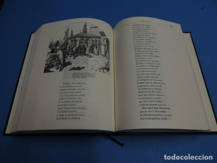 Libros de segunda mano: LA LEYENDA DEL CID ESCRITA EN VERSO - JOSE ZORRILLA - ILUSTRADA POR PELLICER - Foto 9 - 261117960