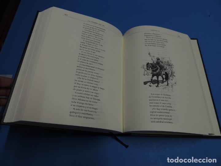 Libros de segunda mano: LA LEYENDA DEL CID ESCRITA EN VERSO - JOSE ZORRILLA - ILUSTRADA POR PELLICER - Foto 10 - 261117960