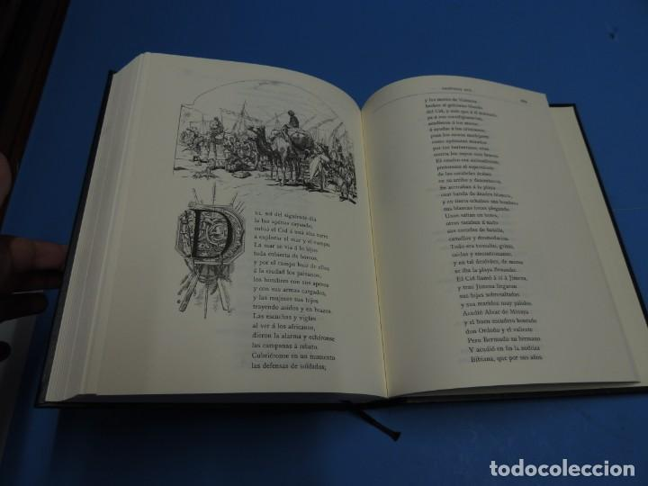 Libros de segunda mano: LA LEYENDA DEL CID ESCRITA EN VERSO - JOSE ZORRILLA - ILUSTRADA POR PELLICER - Foto 11 - 261117960