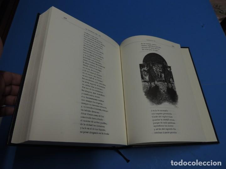 Libros de segunda mano: LA LEYENDA DEL CID ESCRITA EN VERSO - JOSE ZORRILLA - ILUSTRADA POR PELLICER - Foto 12 - 261117960