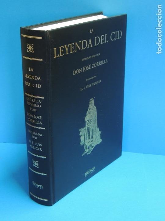 LA LEYENDA DEL CID ESCRITA EN VERSO - JOSE ZORRILLA - ILUSTRADA POR PELLICER (Libros de Segunda Mano (posteriores a 1936) - Literatura - Narrativa - Clásicos)