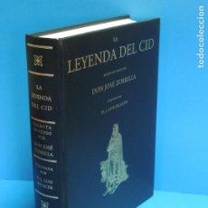 Libros de segunda mano: LA LEYENDA DEL CID ESCRITA EN VERSO - JOSE ZORRILLA - ILUSTRADA POR PELLICER. Lote 261117960