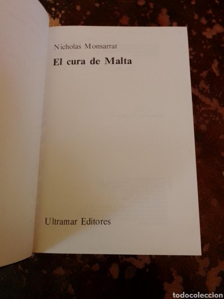 Libros de segunda mano: EL CURA DE MALTA (NICHOLAS MONSARRAT) (ULTRAMAR) - Foto 2 - 261153385
