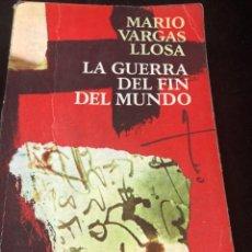 Libros de segunda mano: LA GUERRA DEL FIN DEL MUNDO MARIO VARGAS LLOSA, SEIX BARRAL 1981 1ª EDICIÓN.. Lote 261364405