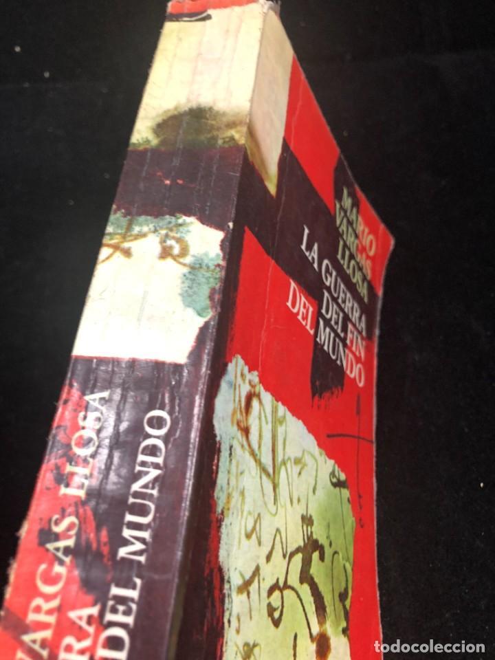 Libros de segunda mano: La guerra del fin del mundo Mario Vargas Llosa, Seix Barral 1981 1ª edición. - Foto 2 - 261364405