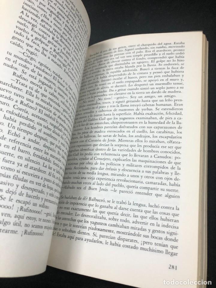 Libros de segunda mano: La guerra del fin del mundo Mario Vargas Llosa, Seix Barral 1981 1ª edición. - Foto 6 - 261364405