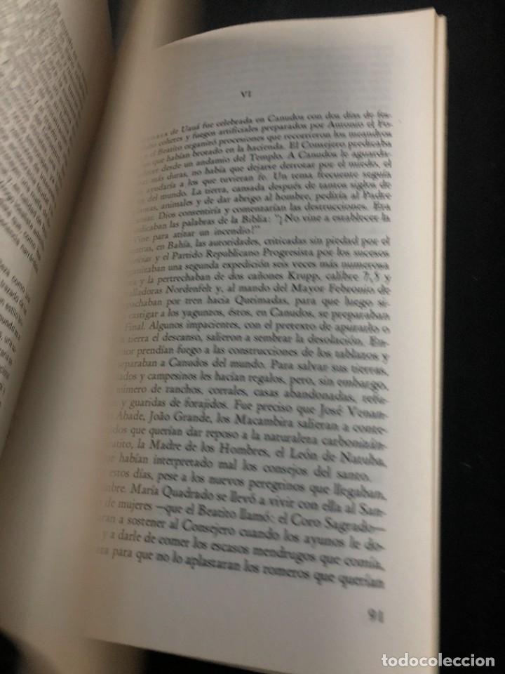 Libros de segunda mano: La guerra del fin del mundo Mario Vargas Llosa, Seix Barral 1981 1ª edición. - Foto 11 - 261364405