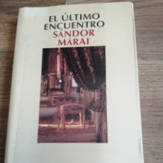 Libros de segunda mano: EL ÚLTIMO ENCUENTRO. Lote 261580820