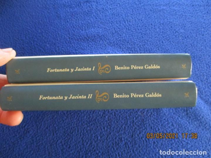 Libros de segunda mano: FORTUNATA Y JACINTA 2 Tomos Benito Perez Galdós Ediciones Orbis Fabri 1994 - Foto 2 - 261651755