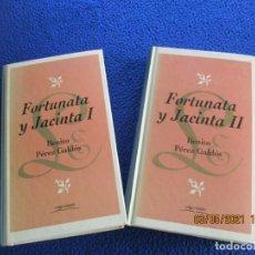 Libros de segunda mano: FORTUNATA Y JACINTA 2 TOMOS BENITO PEREZ GALDÓS EDICIONES ORBIS FABRI 1994. Lote 261651755