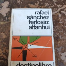 Livros em segunda mão: ALFANHUI (RAFAEL SANCHEZ FERLOSIO) (DESTINOLIBRO 47). Lote 261692625