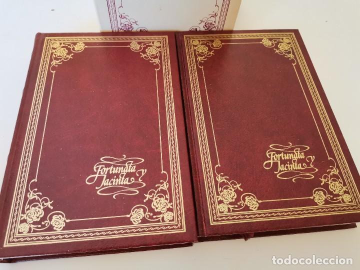 Libros de segunda mano: FORTUNATA Y JACINTA BENITO PEREZ GALDÓS 2 TOMOS CÍRCULO DE LECTORES AÑO 1983 NUEVOS SIN LEER - Foto 2 - 261816960