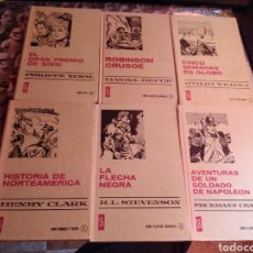 Libros de segunda mano: SERIE CLÁSICOS JUVENILES SISSI ROBINSON LA FLECHA NEGRA SEMANA GLOBO BRUGUERA. Lote 261829355
