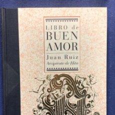 Libros de segunda mano: LIBRO DE BUEN AMOR JUAN RUIZ ARCIPRESTE DE HITA-ESPASA-1997-33X24CMS. Lote 262555615