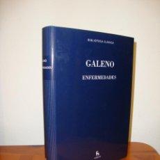Libros de segunda mano: ENFERMEDADES - GALENO - BIBLIOTECA BÁSICA GREDOS, COMO NUEVO. Lote 262569655