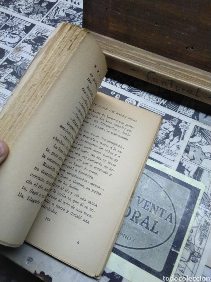 Libros de segunda mano: Aventuras entre los pieles rojas. Tomo primero. Salgari. Calleja. - Foto 5 - 263009725