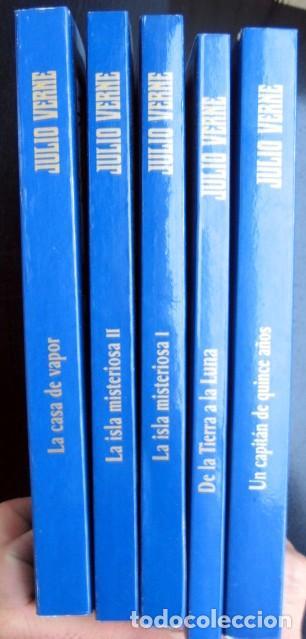 Libros de segunda mano: Lote Julio Verne. Edición Especial Centenario (rústica) 29 tomos - Foto 3 - 263011745