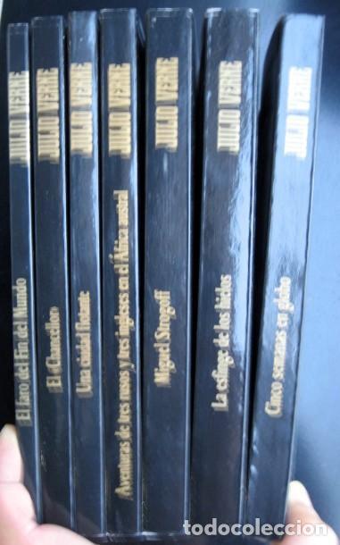 Libros de segunda mano: Lote Julio Verne. Edición Especial Centenario (rústica) 29 tomos - Foto 4 - 263011745