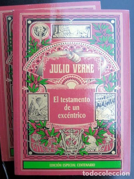 Libros de segunda mano: Lote Julio Verne. Edición Especial Centenario (rústica) 29 tomos - Foto 6 - 263011745
