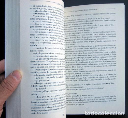 Libros de segunda mano: Lote Julio Verne. Edición Especial Centenario (rústica) 29 tomos - Foto 7 - 263011745