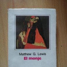 Libros de segunda mano: EL MONJE / MATTHEW G. LEWIS. Lote 263015395