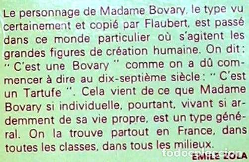 Libros de segunda mano: MADAME BOVARY - FLAUBERT - ED. GARNIER FLAMMARION 1966 - EN FRANCÉS - VER DESCRIPCIÓN - Foto 2 - 263018560