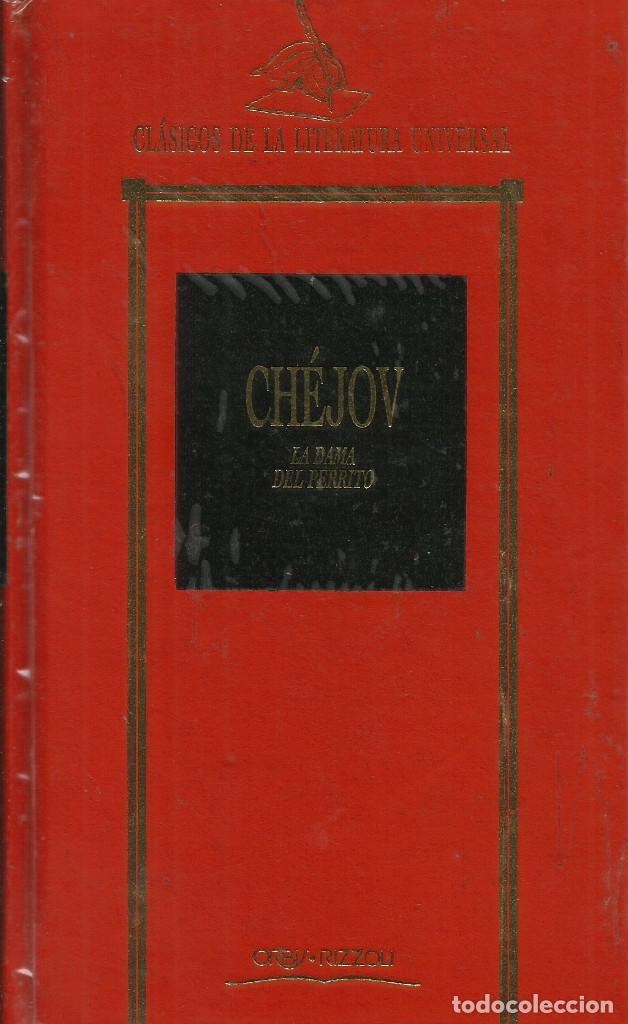 LA DAMA DEL PERRITO / ANTON CHEJOV. (Libros de Segunda Mano (posteriores a 1936) - Literatura - Narrativa - Clásicos)