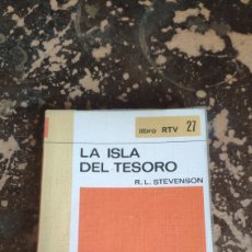 Libros de segunda mano: LIBRO RTV 27: LA ISLA DEL TESORO (R. L. STEVENSON) (SALVAT). Lote 263033110