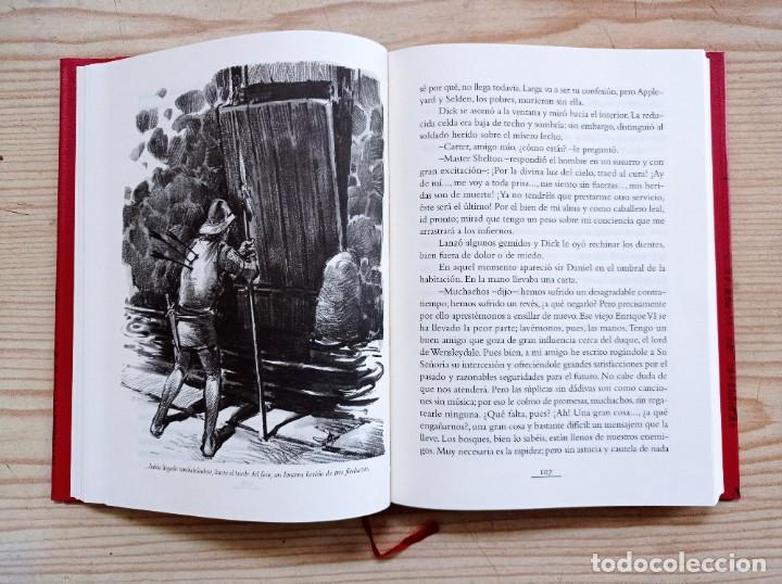 Libros de segunda mano: La Flecha Negra - Robert Louis Stevenson - 2005 - Edhasa - Foto 3 - 263037230
