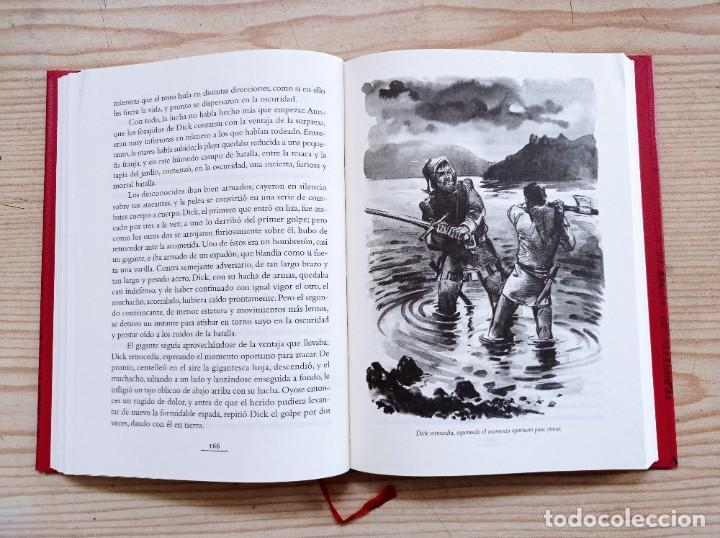 Libros de segunda mano: La Flecha Negra - Robert Louis Stevenson - 2005 - Edhasa - Foto 4 - 263037230