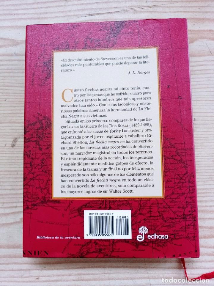 Libros de segunda mano: La Flecha Negra - Robert Louis Stevenson - 2005 - Edhasa - Foto 6 - 263037230